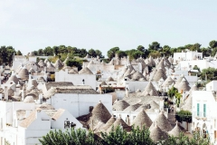 Fairy tale houses in Puglia