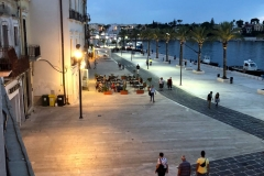 Board walk in Brindisi