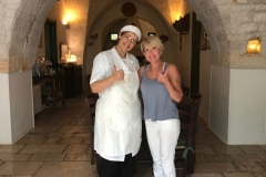 Meet the chef  in Puglia