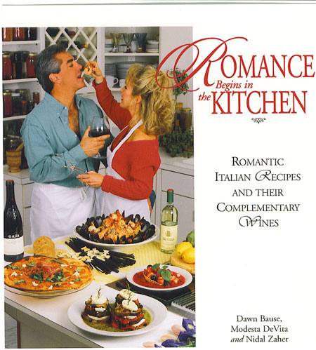 </p> <p>Romance Begins in the Kitchen&nbsp; (Food/Wine)</p> <p>Romantic Italian Recipes and Their Complementary Wines</p> <p>